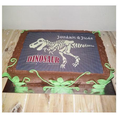 Dino Picture Cake 1