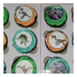 dino cupcakes