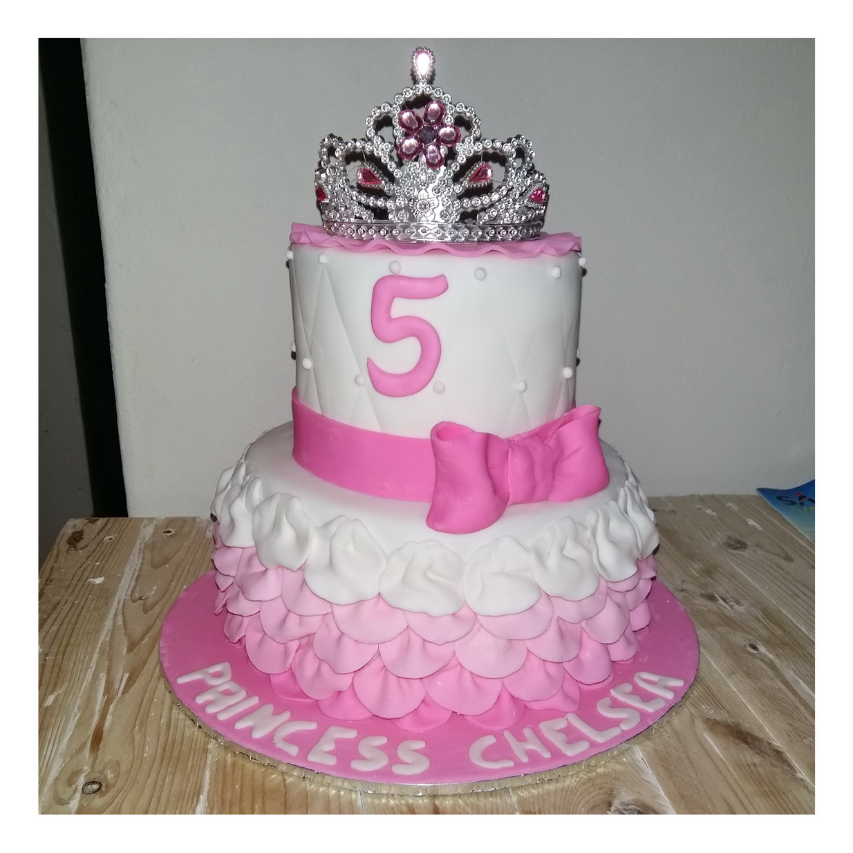 Fine Princess Dress Two Tier Cake Rumble Grumble Parties Funny Birthday Cards Online Aeocydamsfinfo