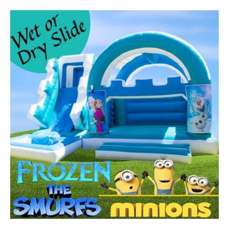 Blue & White Castle, Minions, Smurfs, Frozen