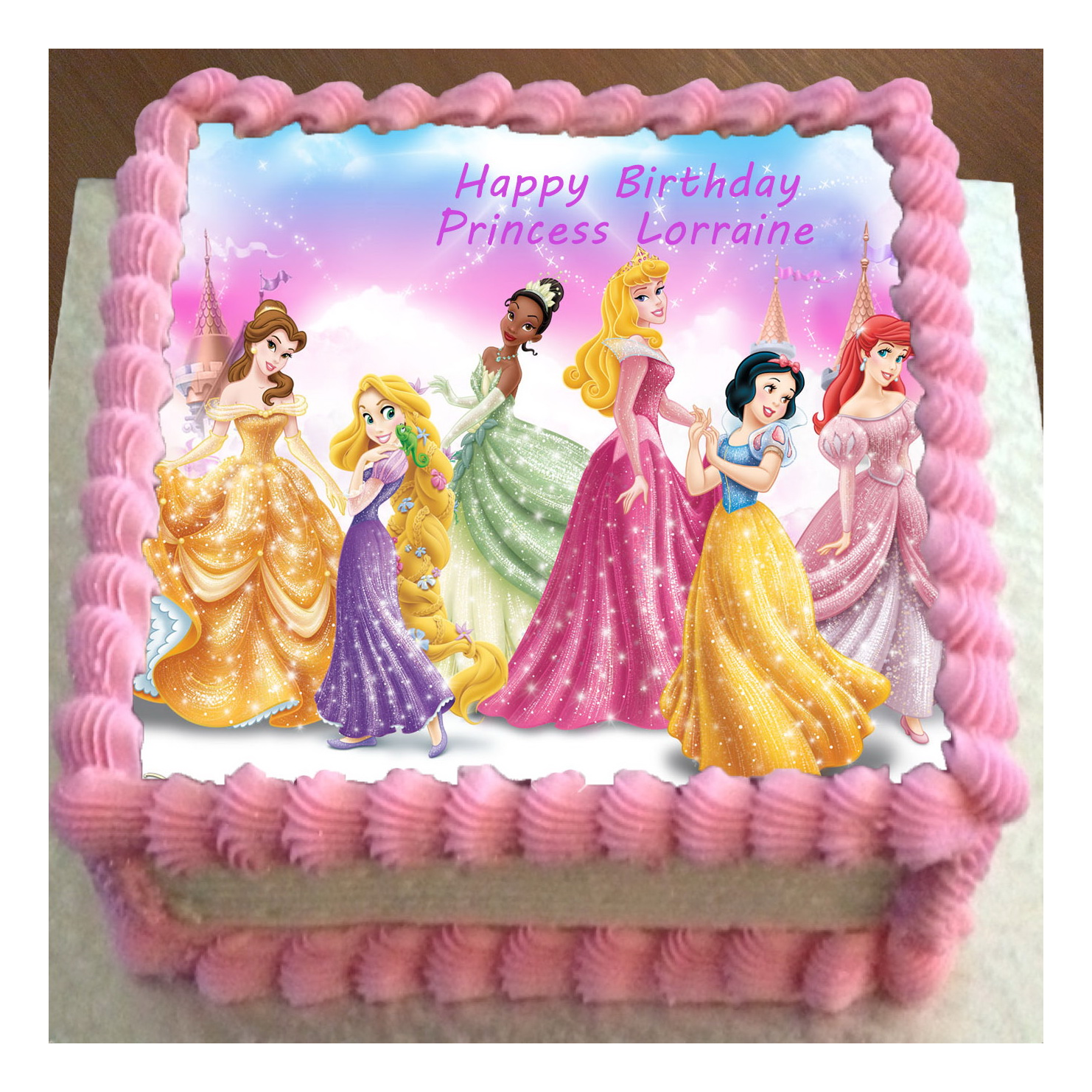 Disney Princess 2 Cake Ideas and Designs