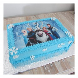 Frozen A4 picture cake