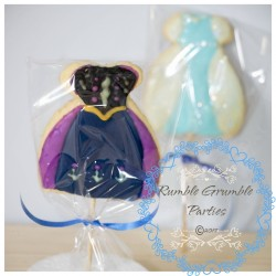 Frozen dresses Cookies