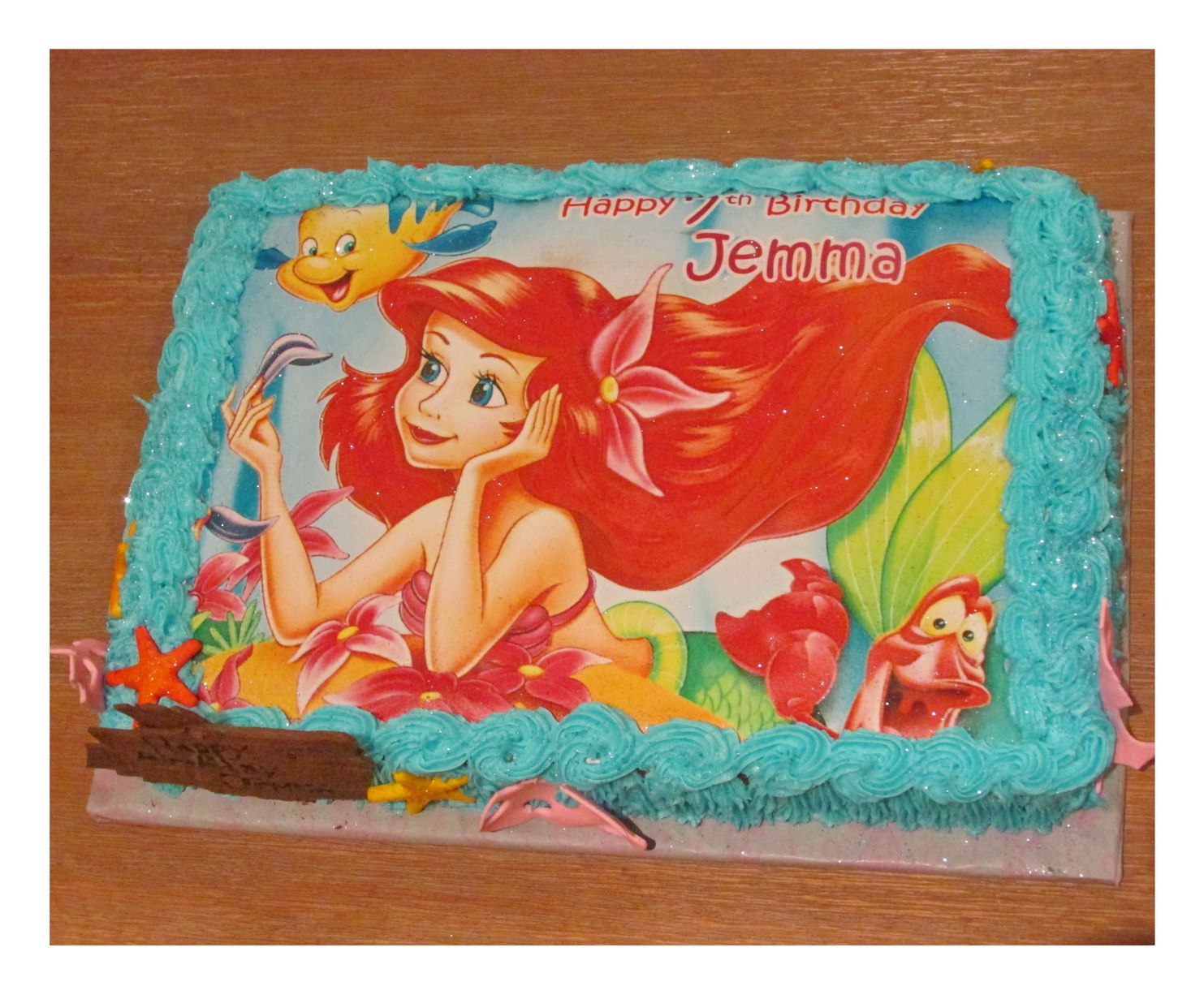 Edible Cake Images Mermaid : Combo Two   Rumble Grumble Parties