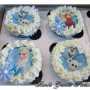 Frozen – printed edible picture cupcake