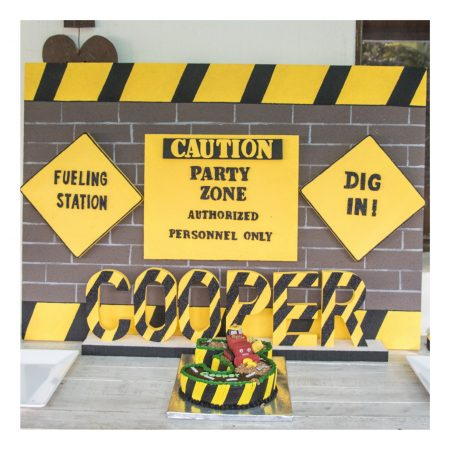 Construction Large Decor Board