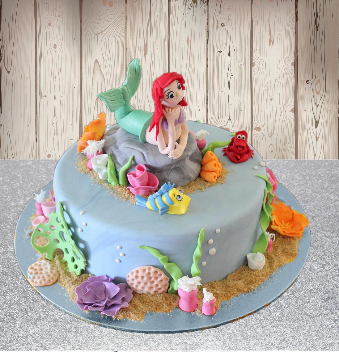 Easy Mermaid Cake Ideas
