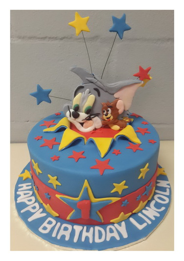 Tom and Jerry Cake Rumble Grumble Parties