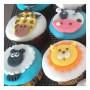 Farm animal 2D Cupcakes